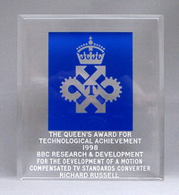 Queen's Award for Technological Achievement